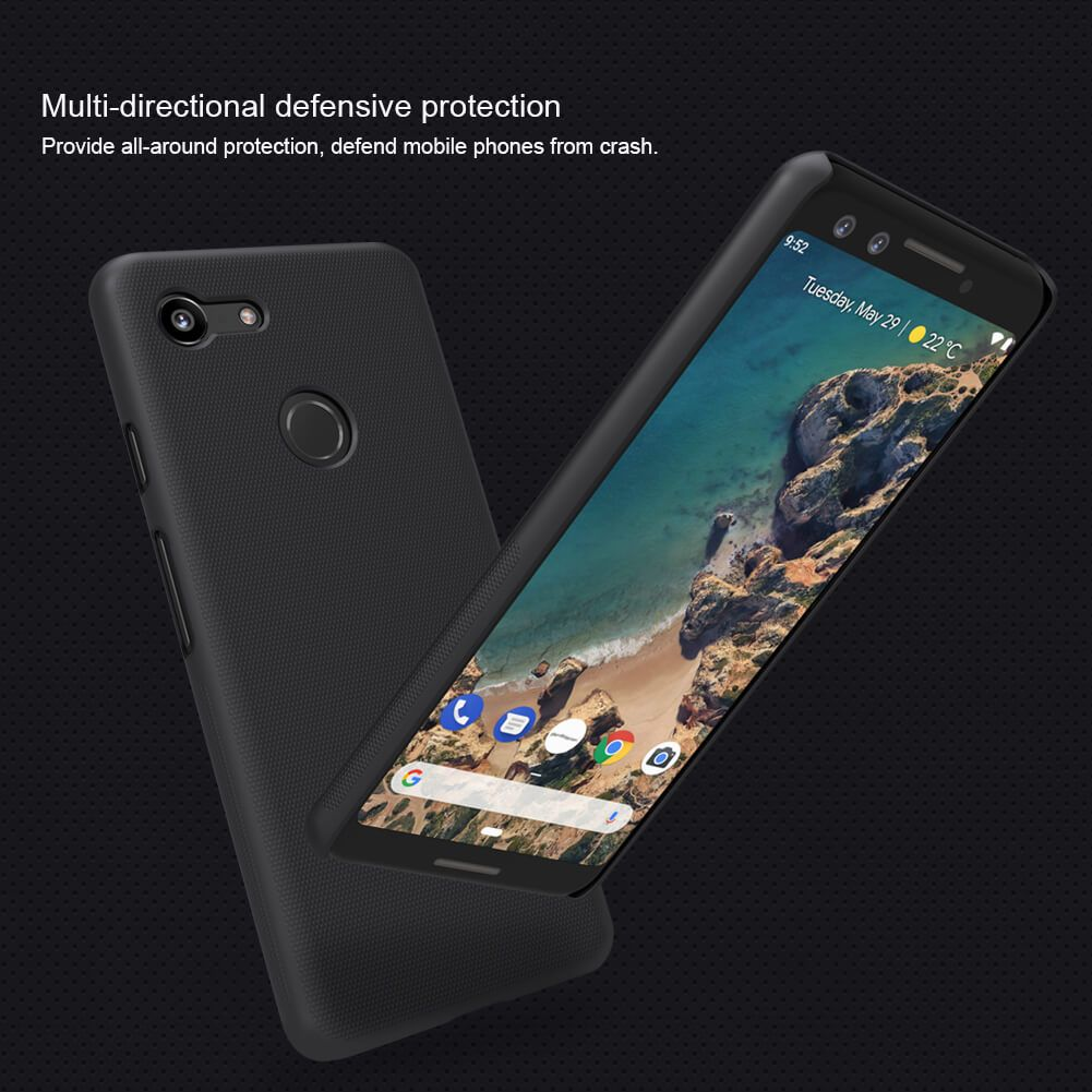 Nillkin Super Frosted Shield Matte Cover Case For Google Pixel 3 (7)