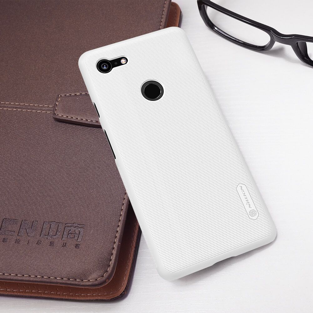 Nillkin Super Frosted Shield Matte Cover Case For Google Pixel 3 Xl (10)