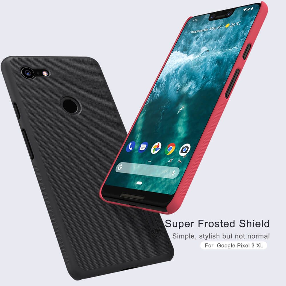 Nillkin Super Frosted Shield Matte Cover Case For Google Pixel 3 Xl (13)