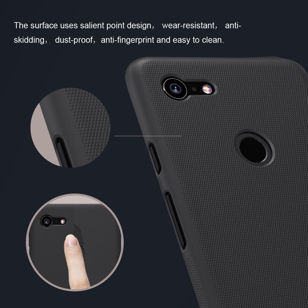 Nillkin Super Frosted Shield Matte Cover Case For Google Pixel 3 Xl (4)