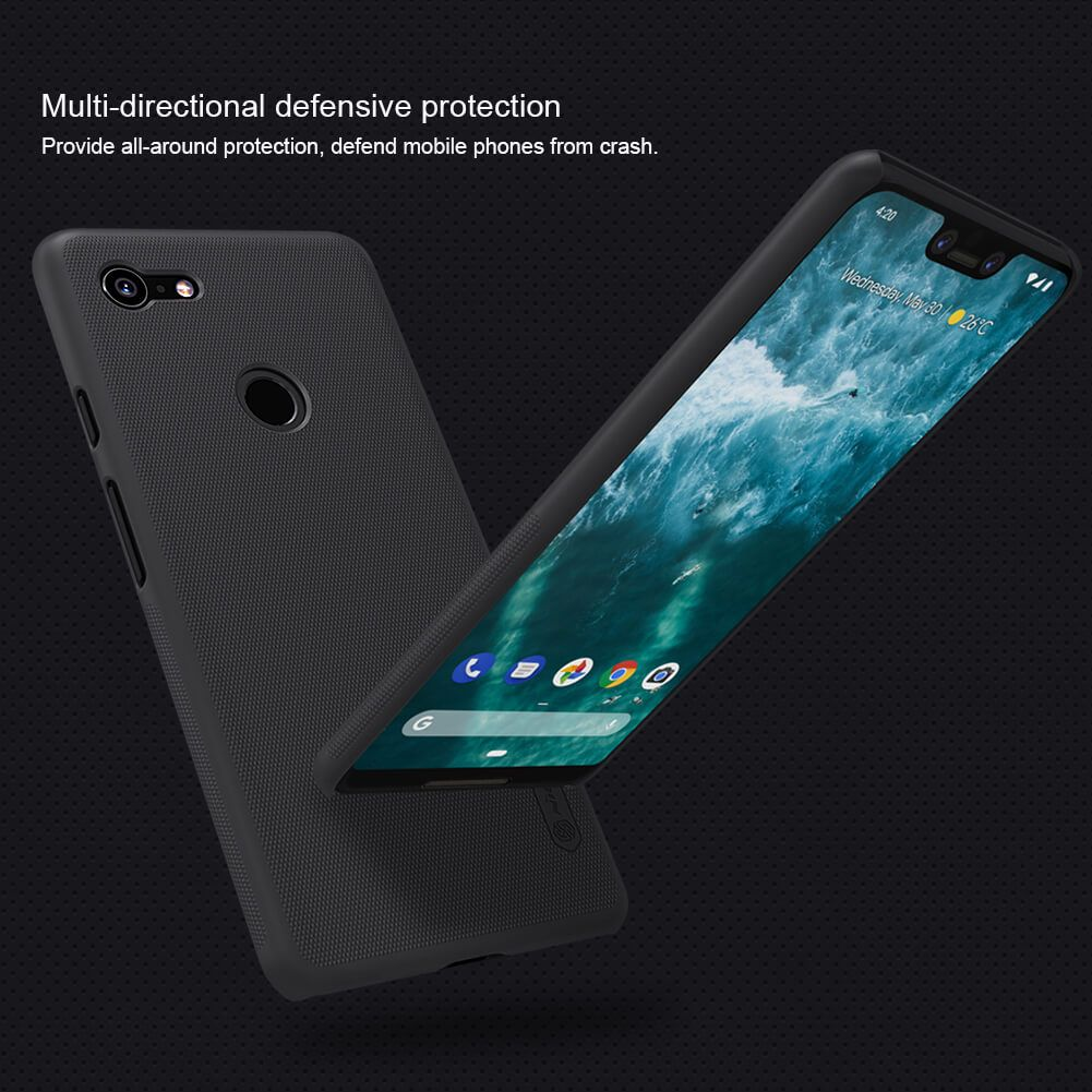 Nillkin Super Frosted Shield Matte Cover Case For Google Pixel 3 Xl (6)
