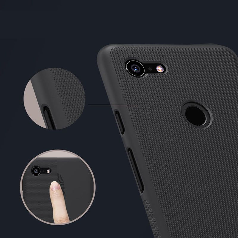 Nillkin Super Frosted Shield Matte Cover Case For Google Pixel 3 Xl (7)
