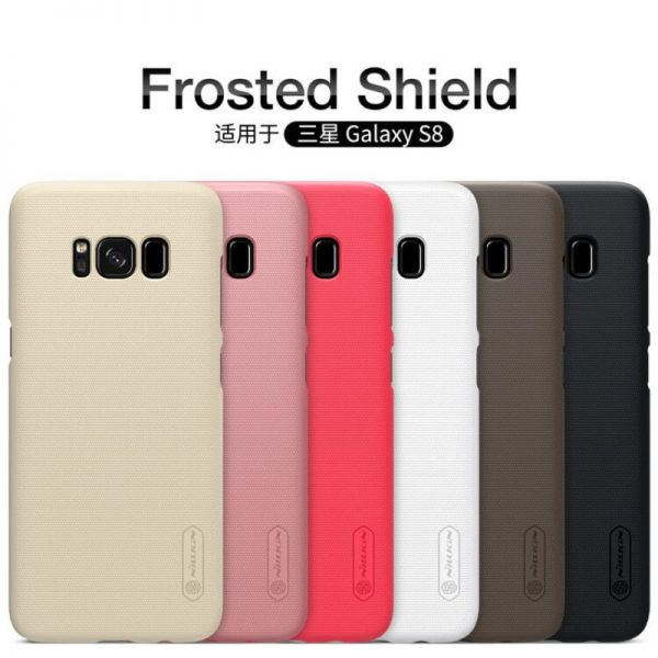 Nillkin Super Frosted Shield Matte Cover Case For Samsung Galaxy S8 (11)