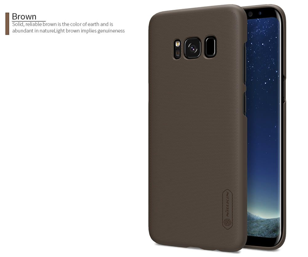 Nillkin Super Frosted Shield Matte Cover Case For Samsung Galaxy S8 (12)