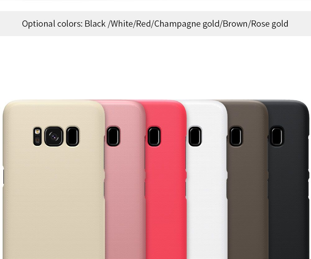 Nillkin Super Frosted Shield Matte Cover Case For Samsung Galaxy S8 (3)