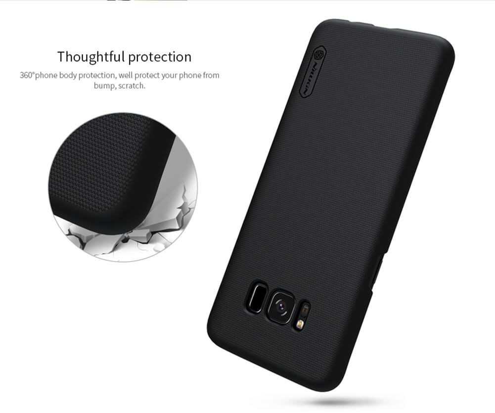Nillkin Super Frosted Shield Matte Cover Case For Samsung Galaxy S8 (7)