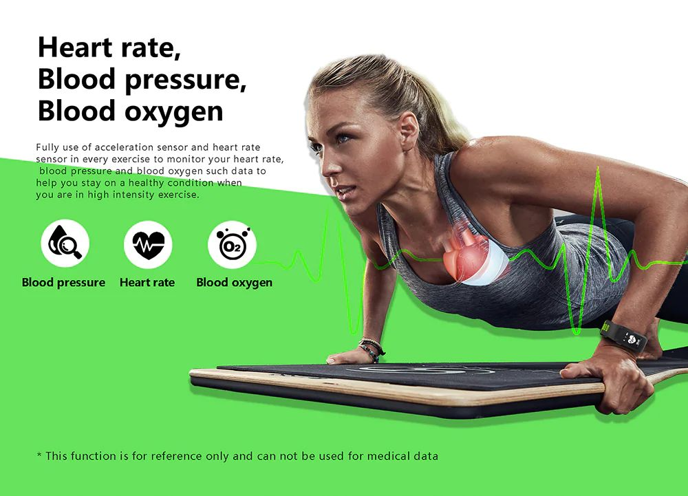 No 1 F4 Heart Rate Smartband (1)