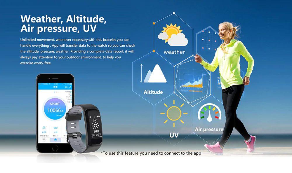 No 1 F4 Heart Rate Smartband (10)