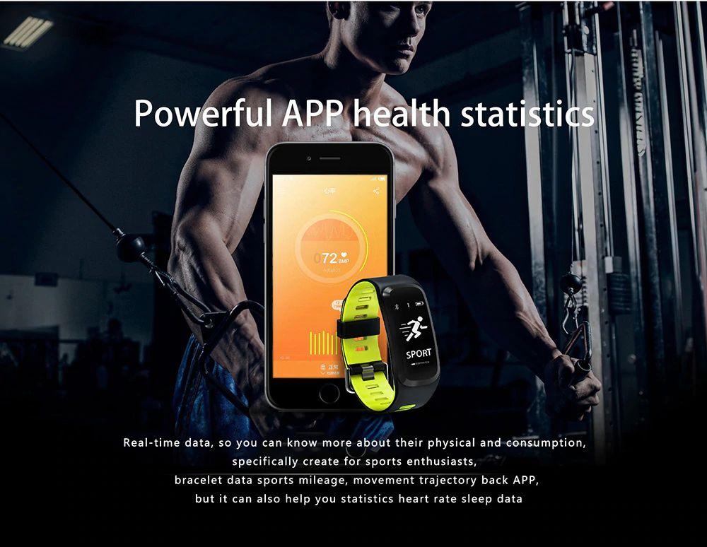 No 1 F4 Heart Rate Smartband (4)