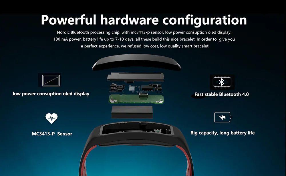 No 1 F4 Heart Rate Smartband (5)