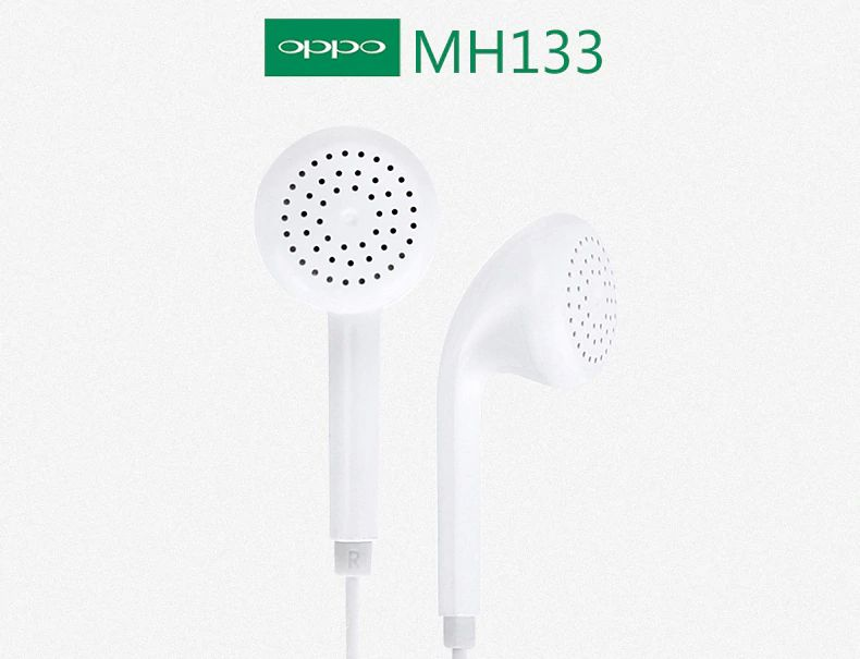 Original Oppo Mh133 Earphone With Microphone (6)