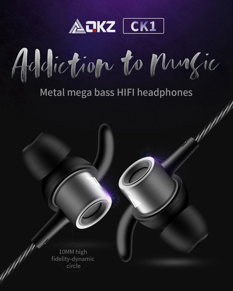 Qkz Ck1 Hd Hifi In Ear Earphones (17)