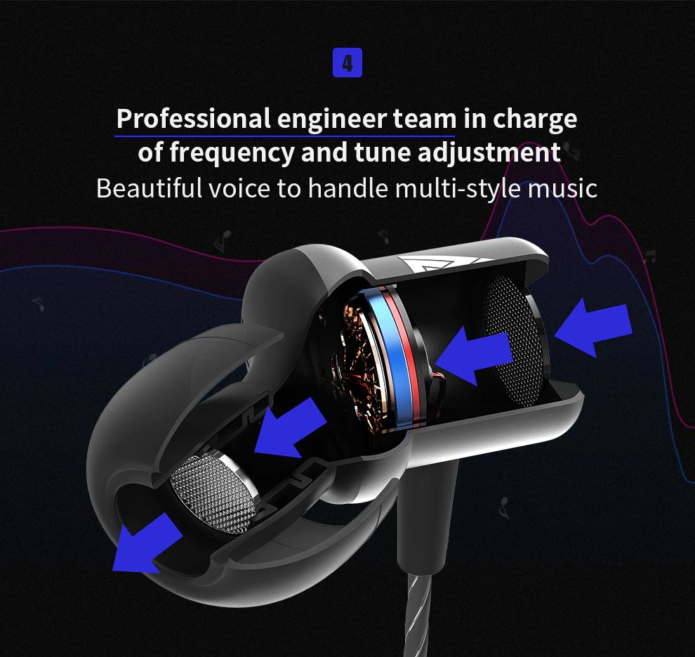 Qkz Ck1 Hd Hifi In Ear Earphones (9)