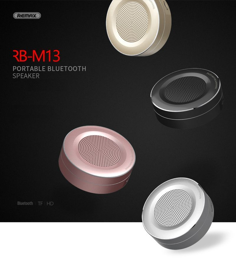 Remax Rb M13 Wireless Portable Bluetooth Speaker (3)