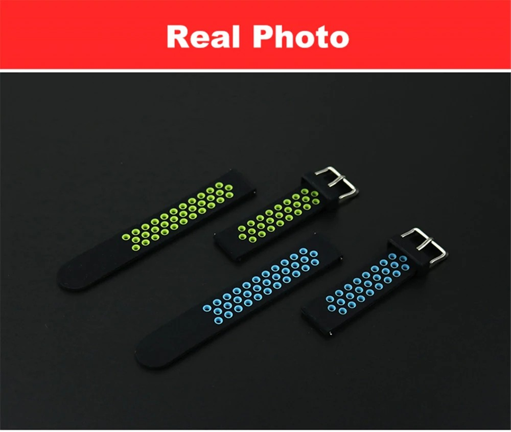 Replacement Silicone Watch Band Strap For Amazfit Bip And M28 (2)