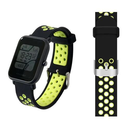 Replacement Silicone Watch Band Strap For Amazfit Bip And M28 (4)