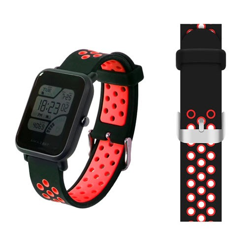 Replacement Silicone Watch Band Strap For Amazfit Bip And M28 (6)