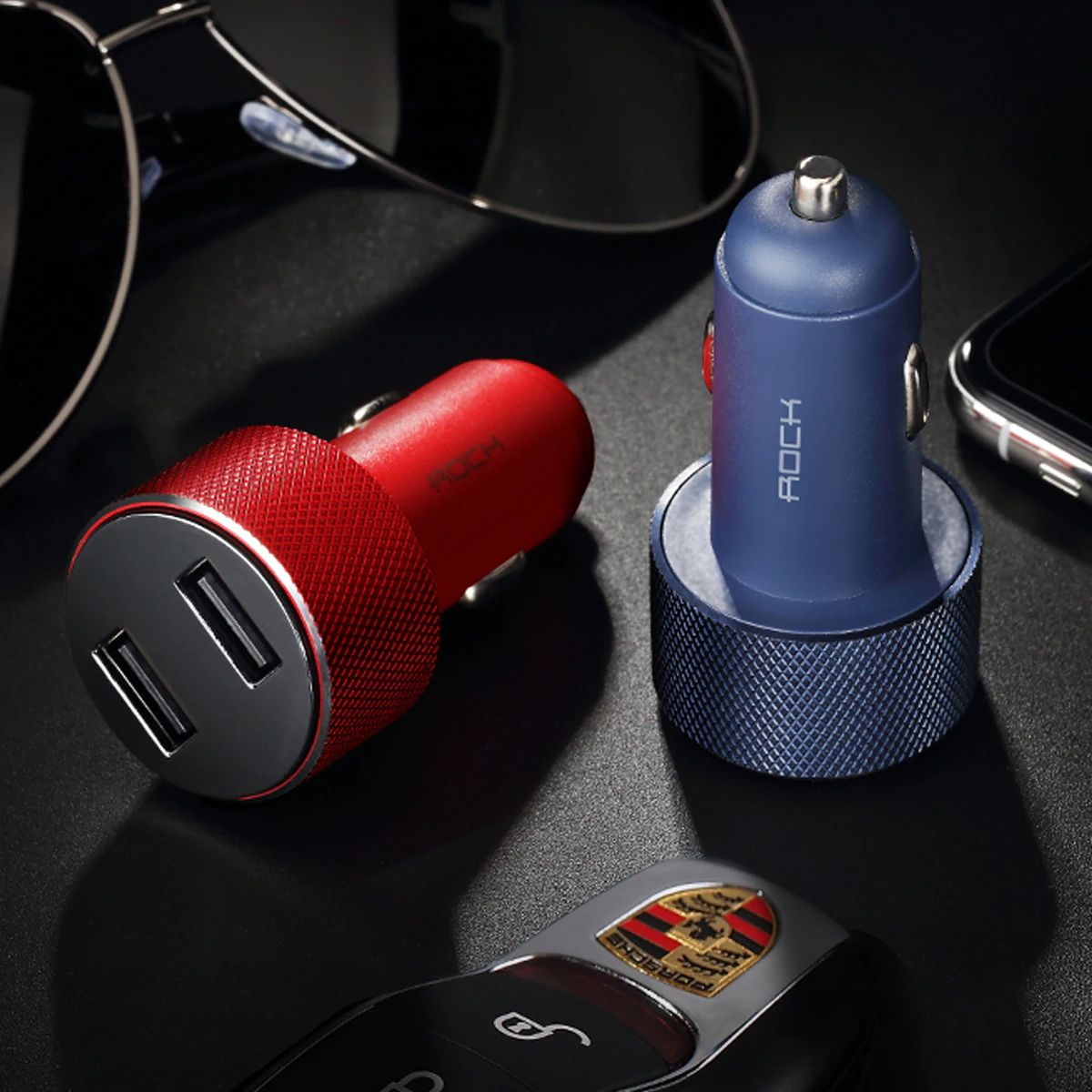 Rock Sitor Car Charger With Digital Display (13)