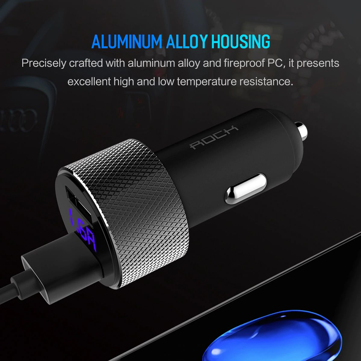 Rock Sitor Car Charger With Digital Display (16)