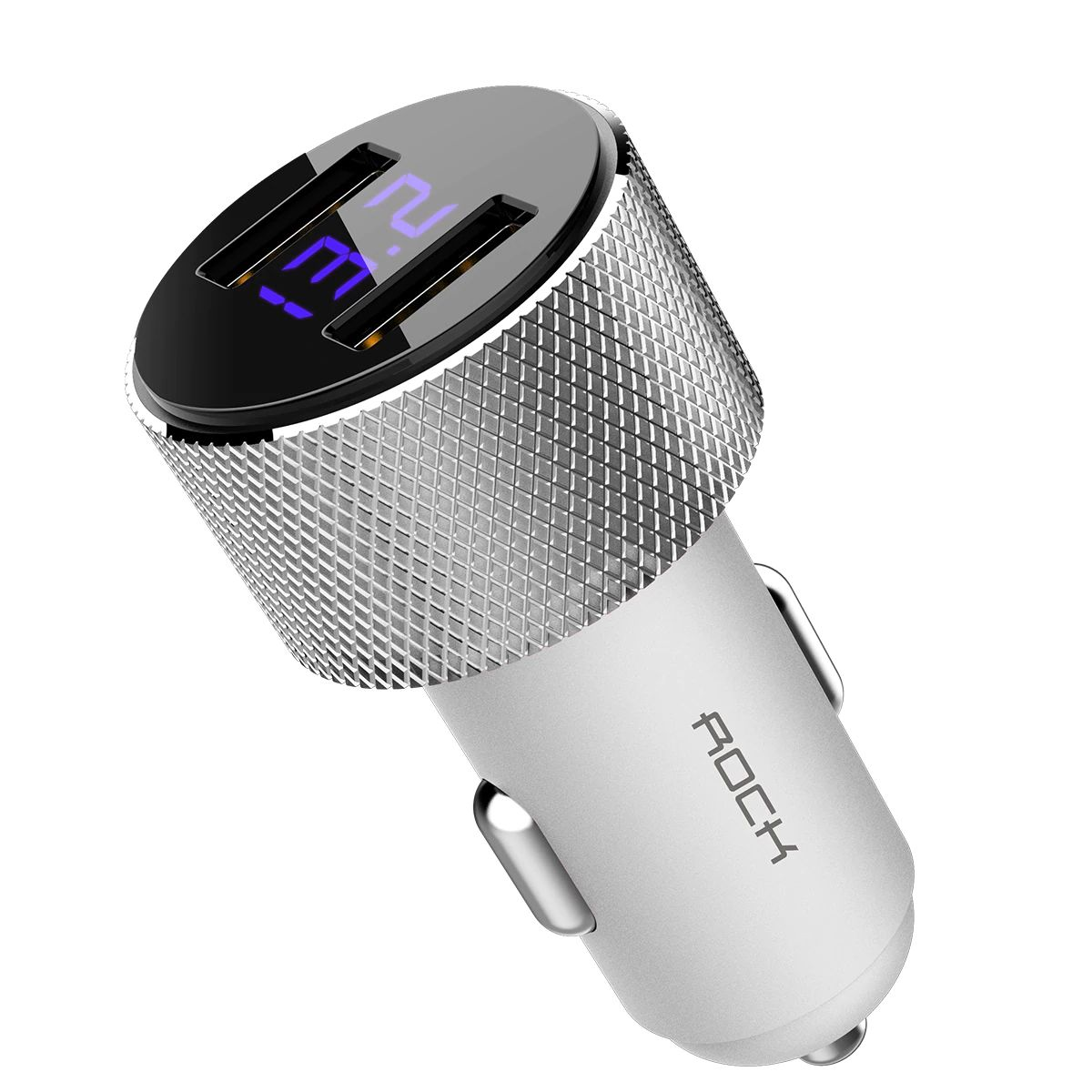 Rock Sitor Car Charger With Digital Display (7)