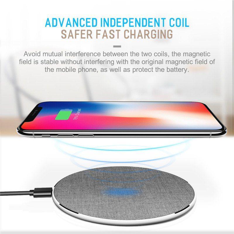Rock W13 Qi Wireless Charger 10w 7 5w (7)