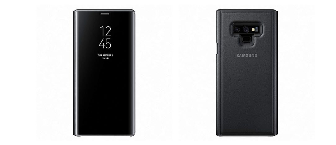 Samsung Galaxy Note 9 Clear View Standing Case (2)