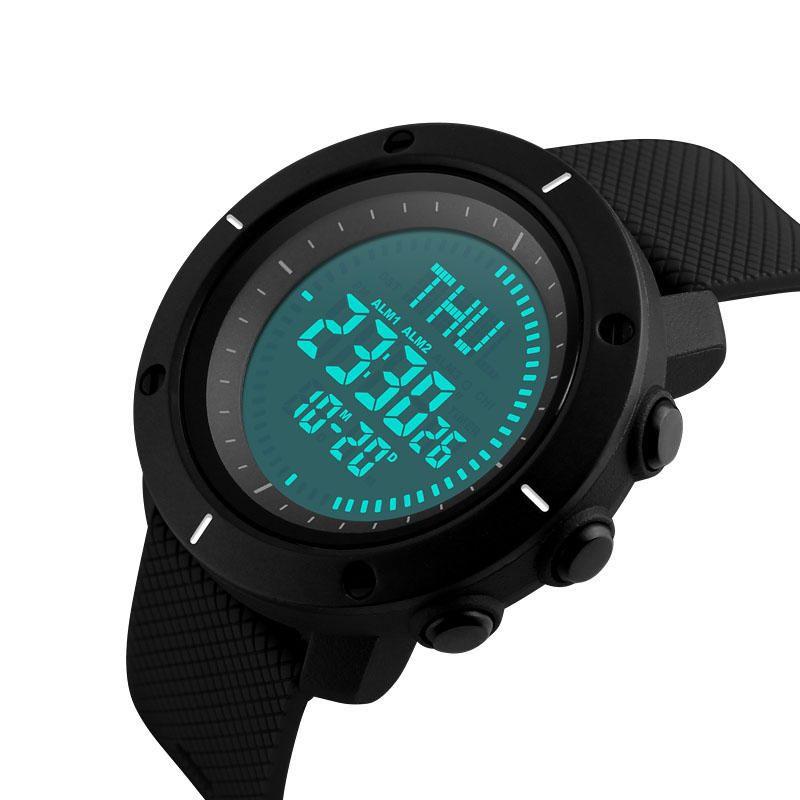 Skmei 1216 Compass Mens Women Digital Watch (2)