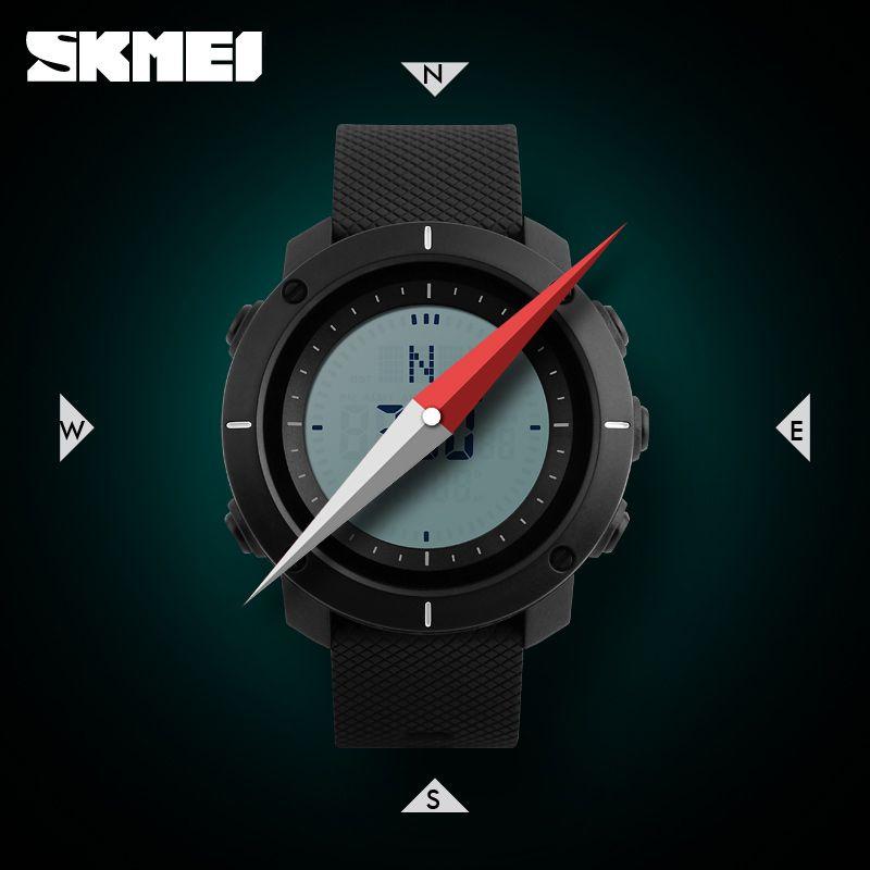 Skmei 1216 Compass Mens Women Digital Watch (4)