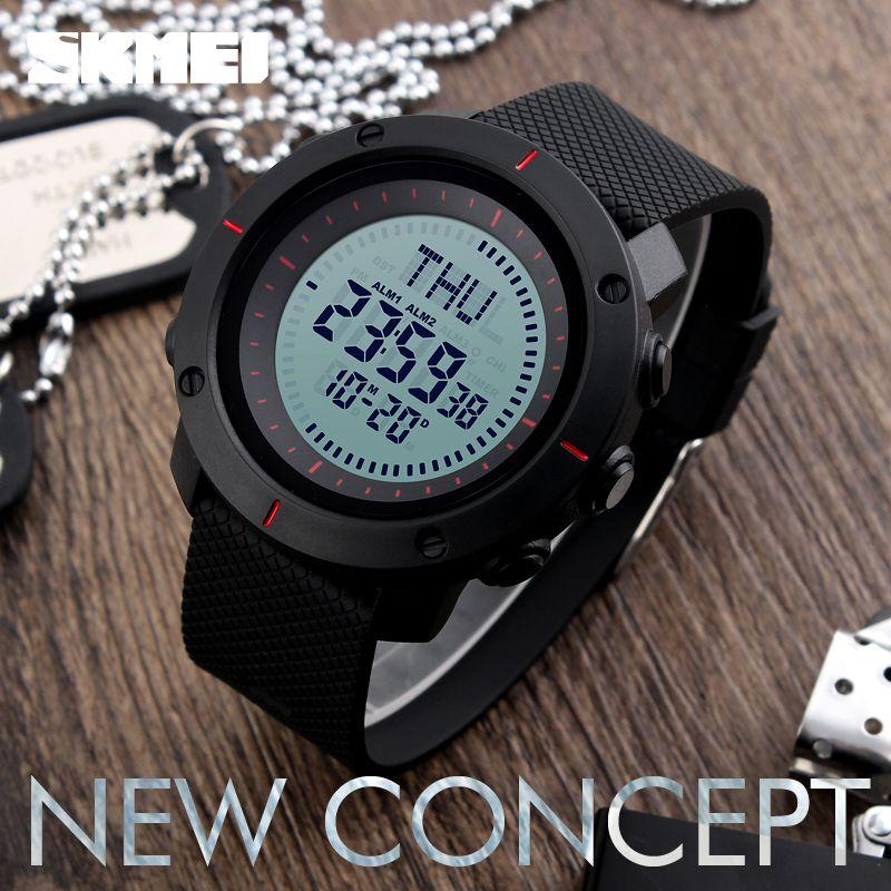 Skmei 1216 Compass Mens Women Digital Watch (5)