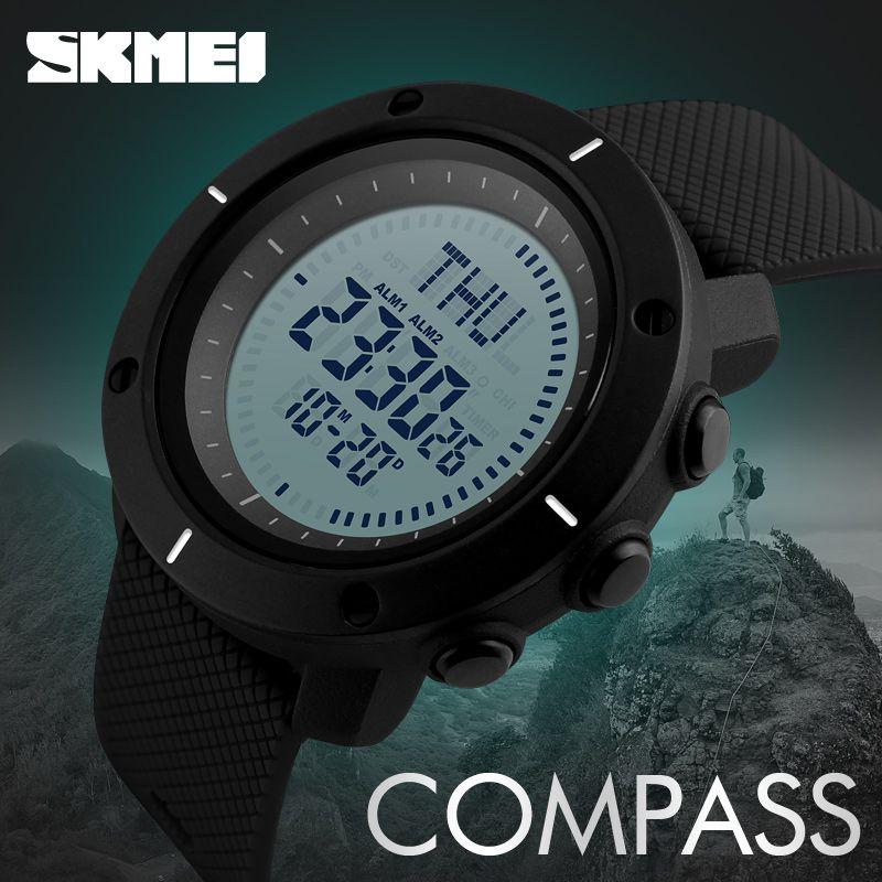 Skmei 1216 Compass Mens Women Digital Watch (6)