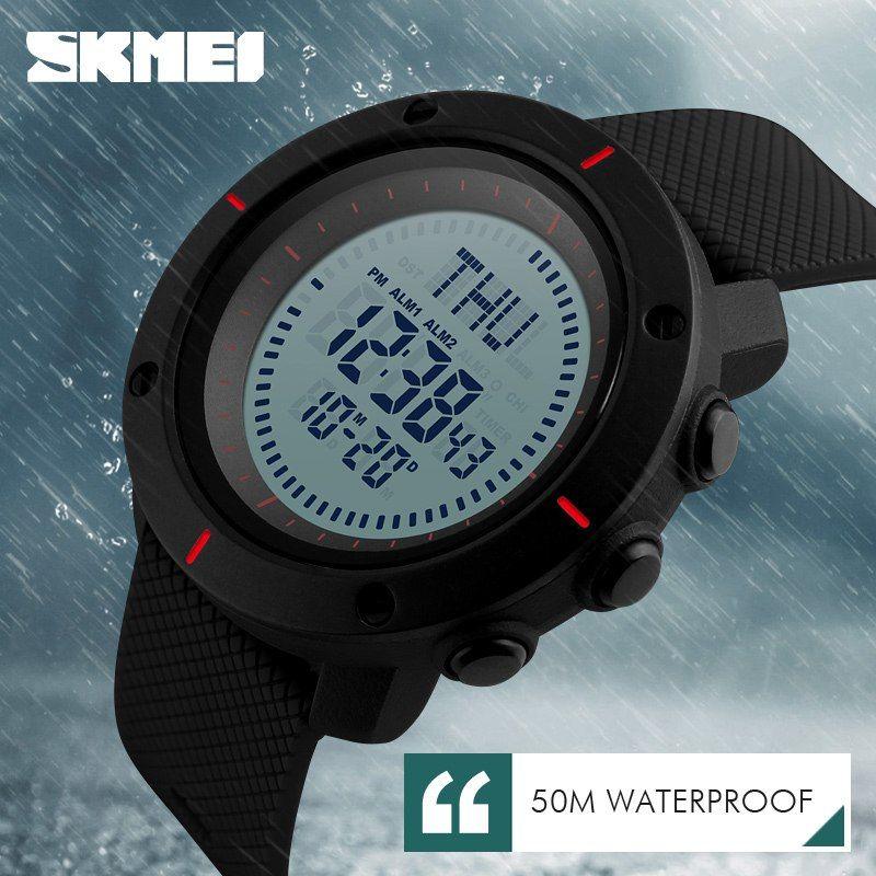 Skmei 1216 Compass Mens Women Digital Watch (7)