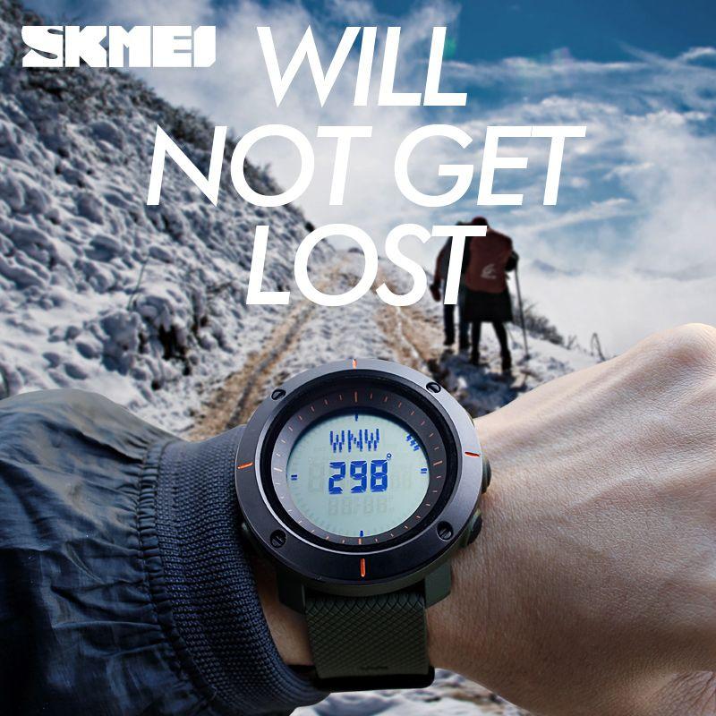 Skmei 1216 Compass Mens Women Digital Watch (8)