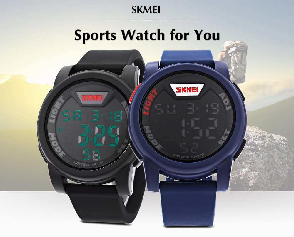 Skmei 1218 Led Digital Watch (1)