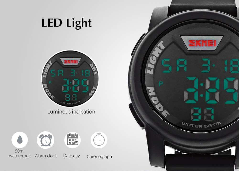 Skmei 1218 Led Digital Watch (2)