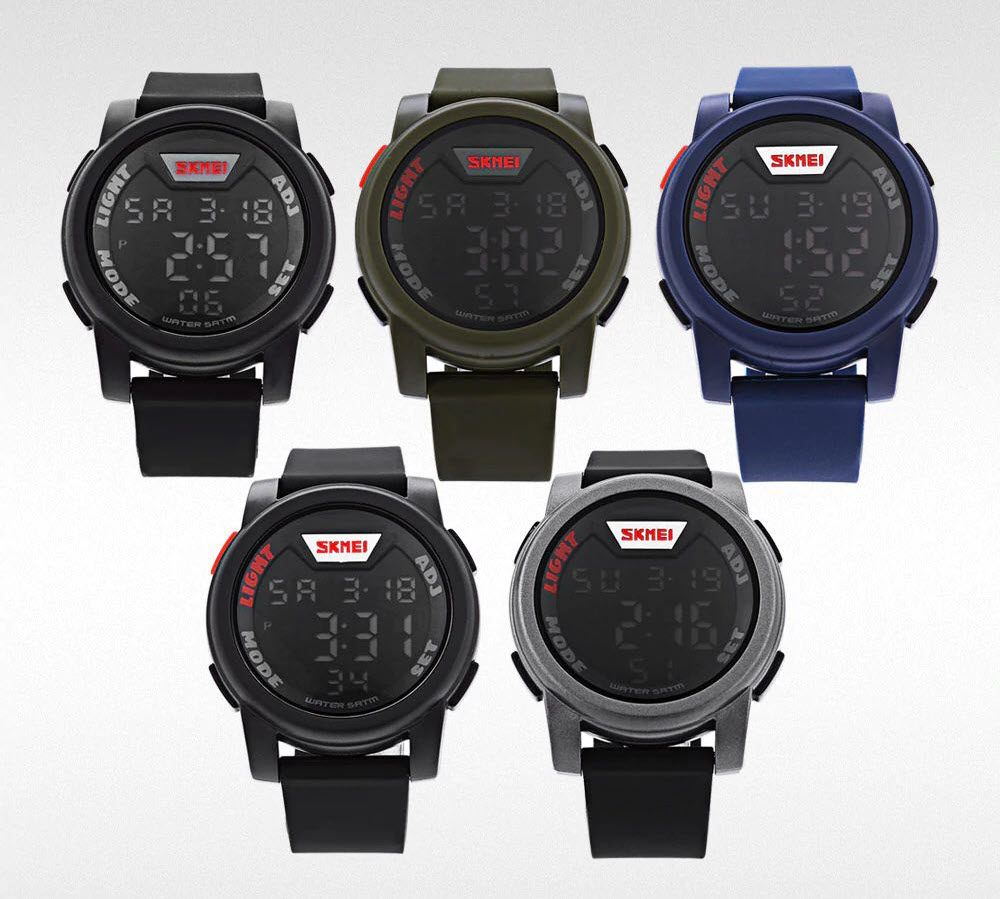 Skmei 1218 Led Digital Watch (5)