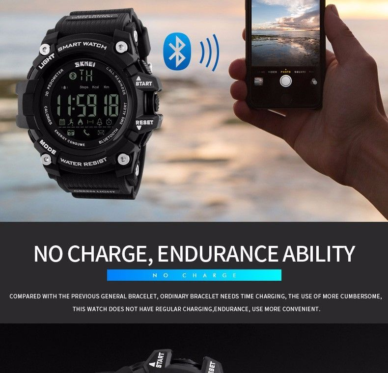 Skmei 1227 Bluetooth Smart Watch (5)