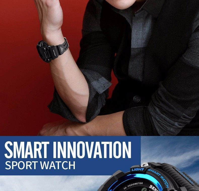 Skmei 1227 Bluetooth Smart Watch (6)