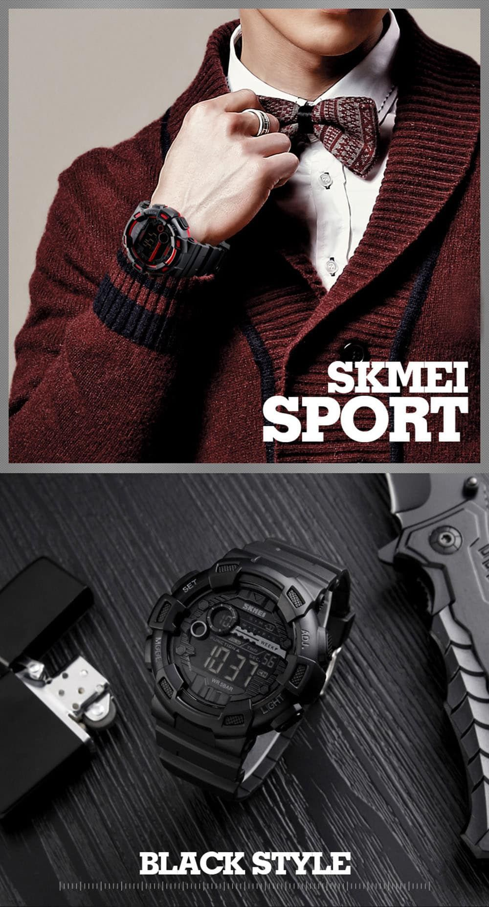 Skmei 1243 Men Sports Watch (3)