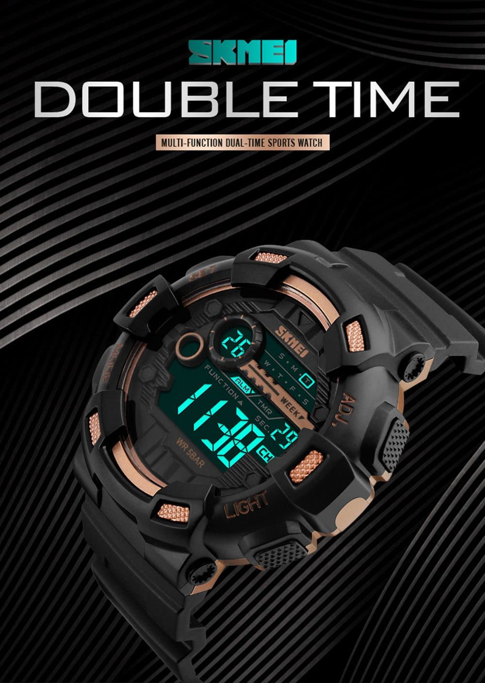 Skmei 1243 Men Sports Watch (7)