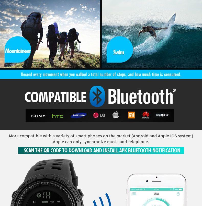 Skmei 1250 Sports Smart Digital Watch (14)