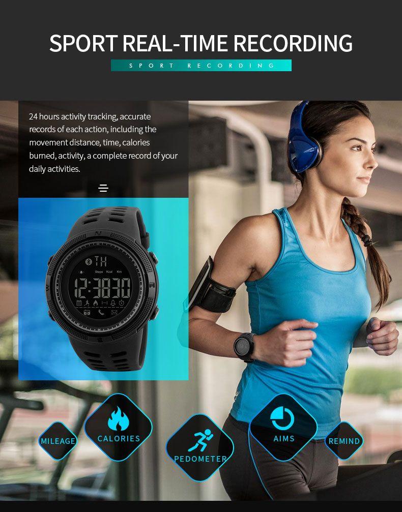 Skmei 1250 Sports Smart Digital Watch (3)