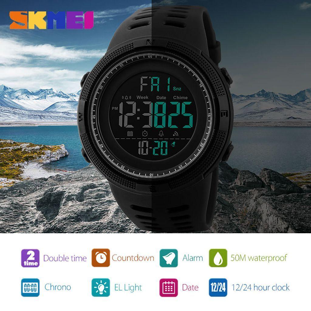 Skmei 1251 Waterproof Sports Digital Watch (6)