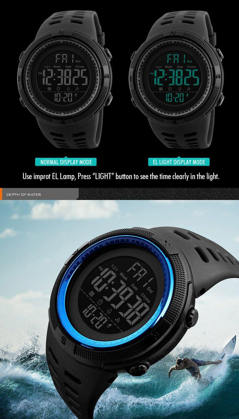 Skmei 1251 Waterproof Sports Digital Watch (7)