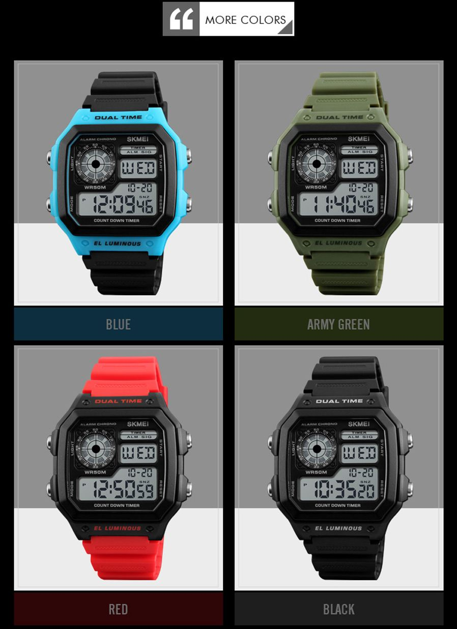 Skmei 1299 Digital Sports Watch (2)
