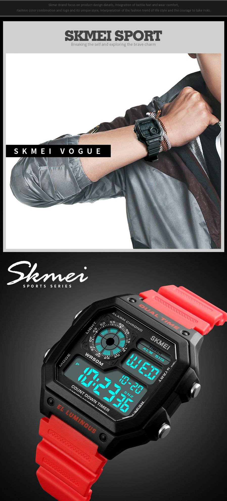 Skmei 1299 Digital Sports Watch (3)
