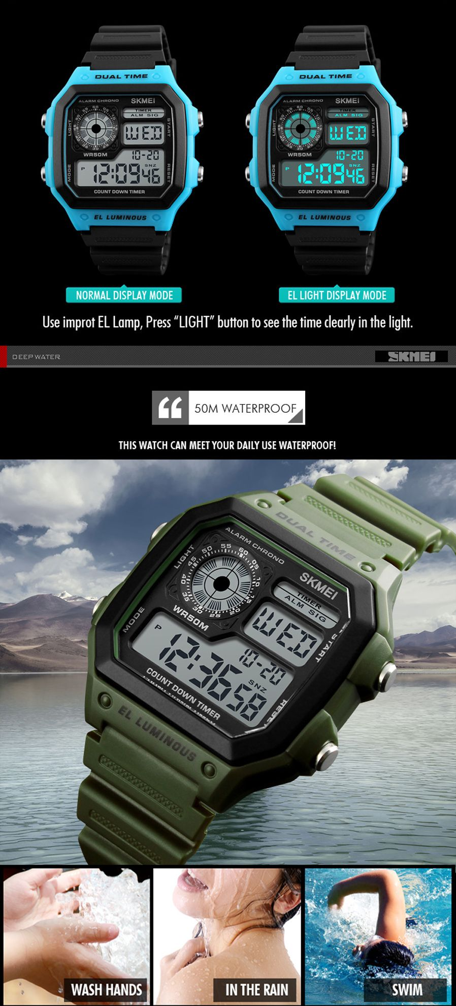 Skmei 1299 Digital Sports Watch (5)