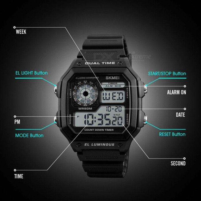Skmei 1299 Digital Sports Watch (5)