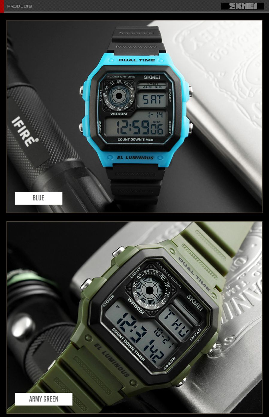 Skmei 1299 Digital Sports Watch (7)