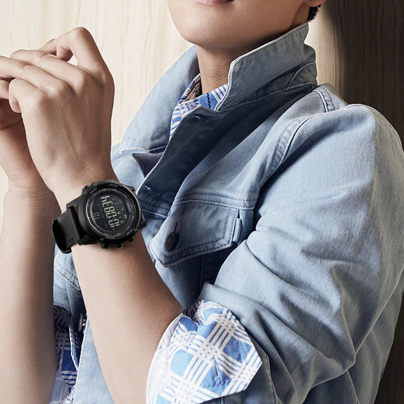 Skmei 1321 Mens Bluetooth Smart Watch (2)
