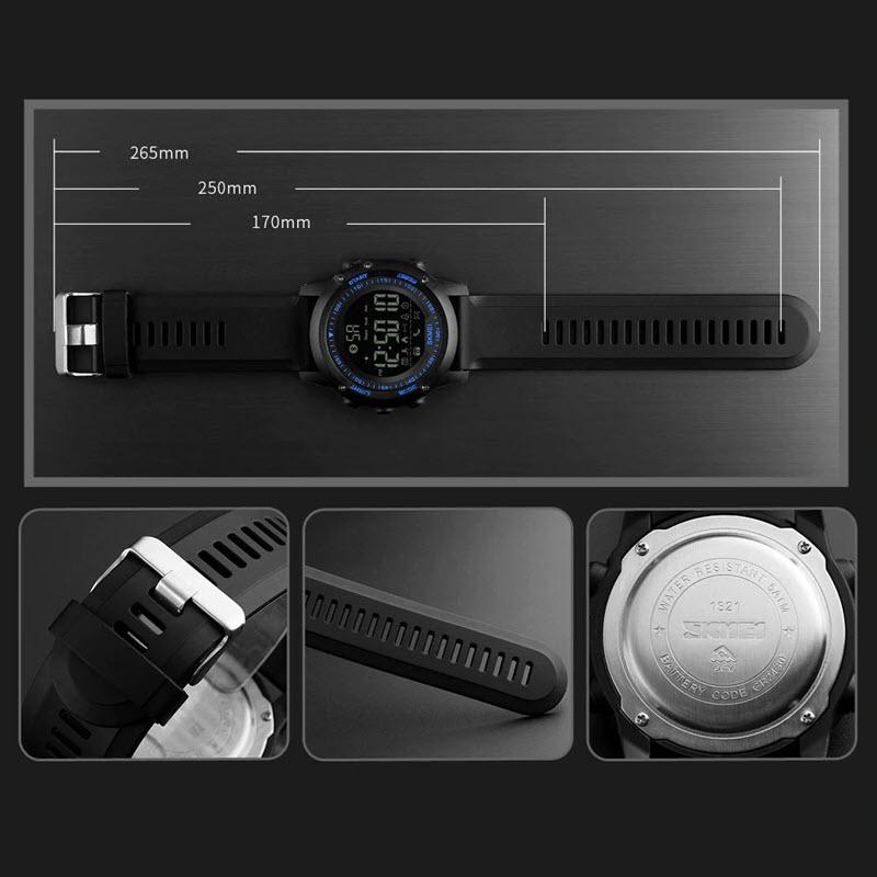 Skmei 1321 Mens Bluetooth Smart Watch (4)